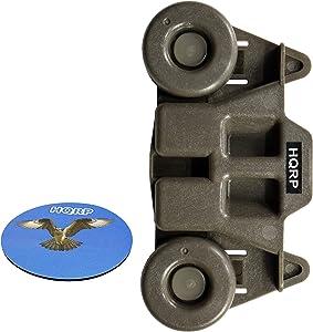 HQRP Wheel compatible with Whirlpool WDF760SADT1 WDF770SAFZ0 WDF775SAYB0 WDF780SLYB0 WDL785SAAM0 WDT750SAHB0 WDT780SAEM0 WDT790SAYB0 WDT910SAYE0 WDT910SAYH2 Dishwasher Dishrack Roller Dish Rack