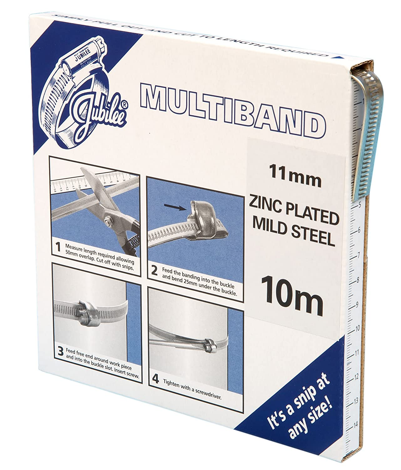 Jubilee MB1704 Housings and Screws for Multiband M/S, 11 mm, Set of 25 Jack Irwin