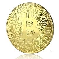 Fa. Wessel Bitcoin pièce solide plaqué or crypto blockchain rapide prime expédition