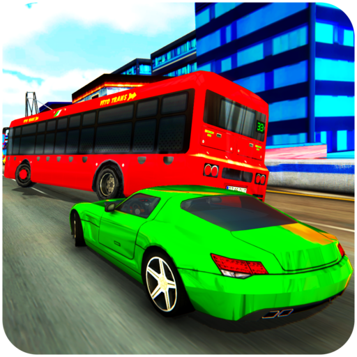 Traffic Car In Race 3D : Top speed super cars drag racing highway city traffic supply heavy duty cardriving germany zone crazy car chase racinghero speedy free game 2018 ()