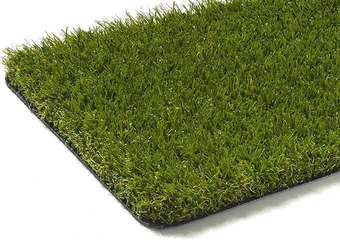 Garten Terrasse wasserdurchl/ässig f/ür Balkon Gr/ö/ße: 133x1000 cm UV-Garantie in Gr/ün Steffensmeier Kunstrasen Kunststoffrasen Park Meterware