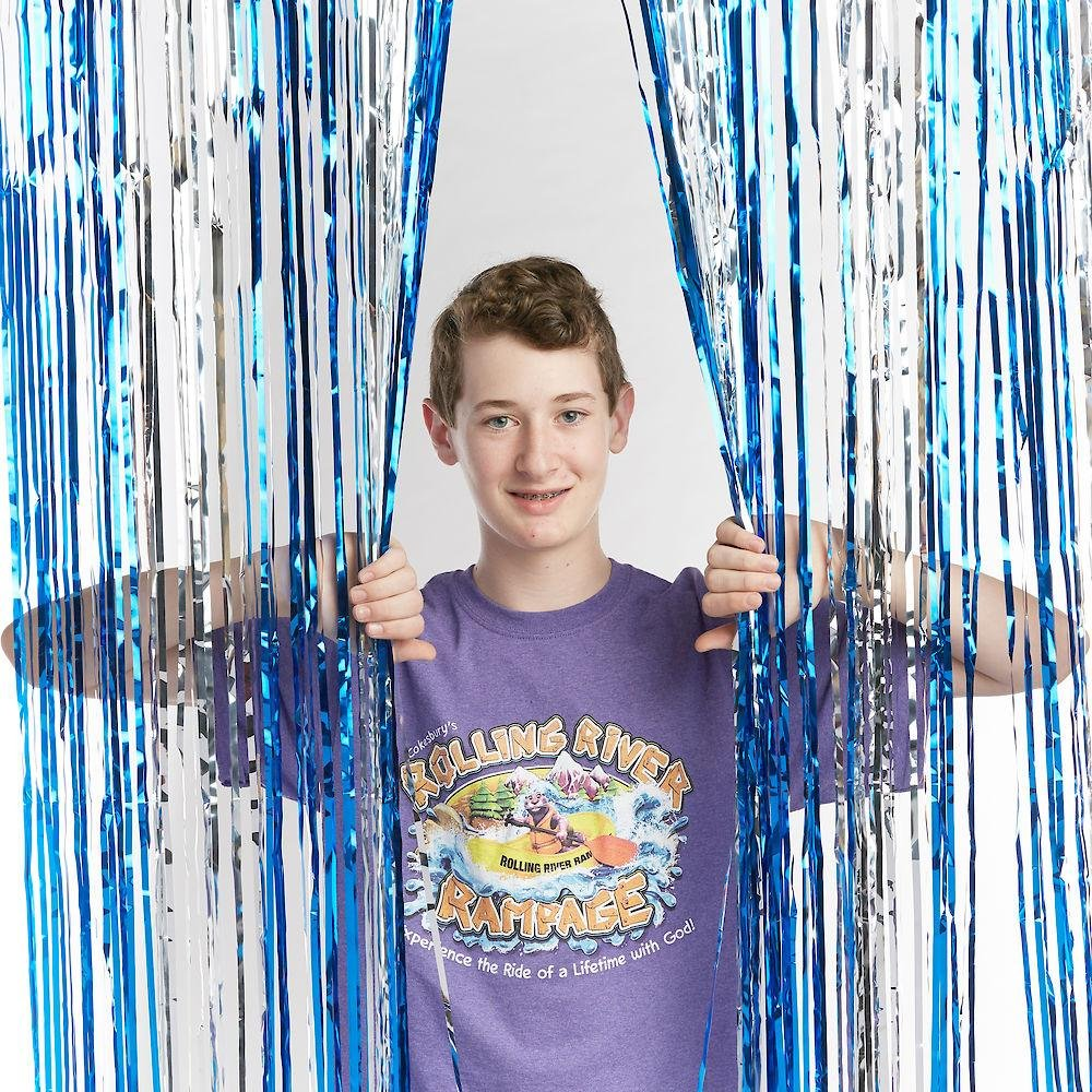 Vacation Bible School (VBS) 2018 Rolling River Rampage Blue/Silver Foil Decorating Curtain: Experience the Ride of a Lifetime with God! pdf epub