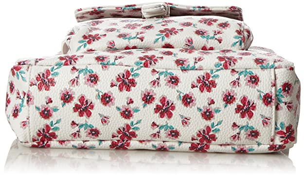 Acc Rinapu Flower Womens Cross-Body Bag White (Weiss) 7x27.5x25 cm (B x H x T) Tom Tailor Qz3IZWxuv