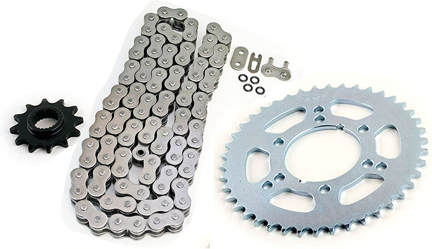 1995-1999 Polaris Trail Boss 250 O-Ring Chain and 12//42 Sprocket Set