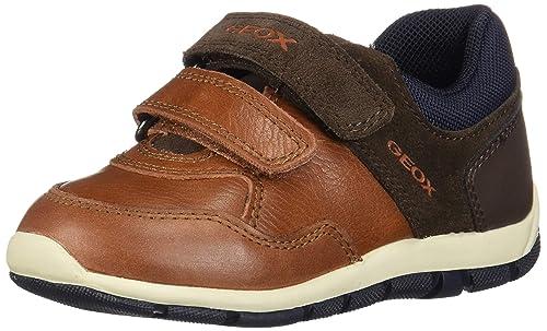 Geox B Shaax A, Zapatillas Bebé-para Niños: Amazon.es: Zapatos y complementos