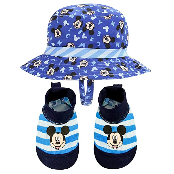6207bd03c20a6 Image Unavailable. Image not available for. Color  Disney Mickey Mouse   quot Sunny Fun quot  Swim Hat ...