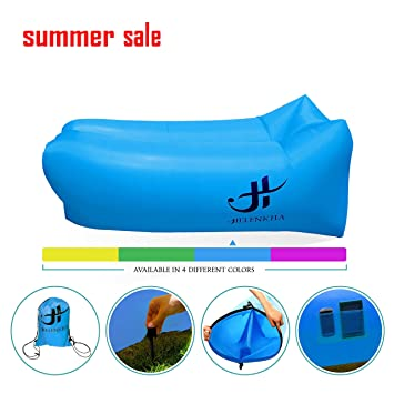 Amazoncom Inflatable Lounger Air Hammock Portable Waterproof