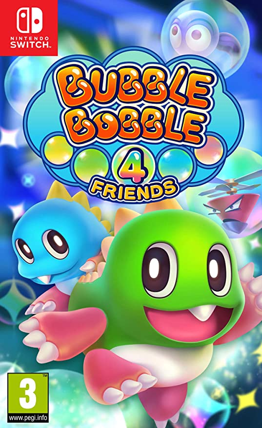 Bubble Bobble 4 Friends: Amazon.es: Videojuegos