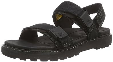0ce10220cf02 Cat Footwear Men s Drifter Ankle Strap Sandals Black Size  7 UK