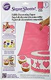Wilton Sugar Sheet, Bright Pink