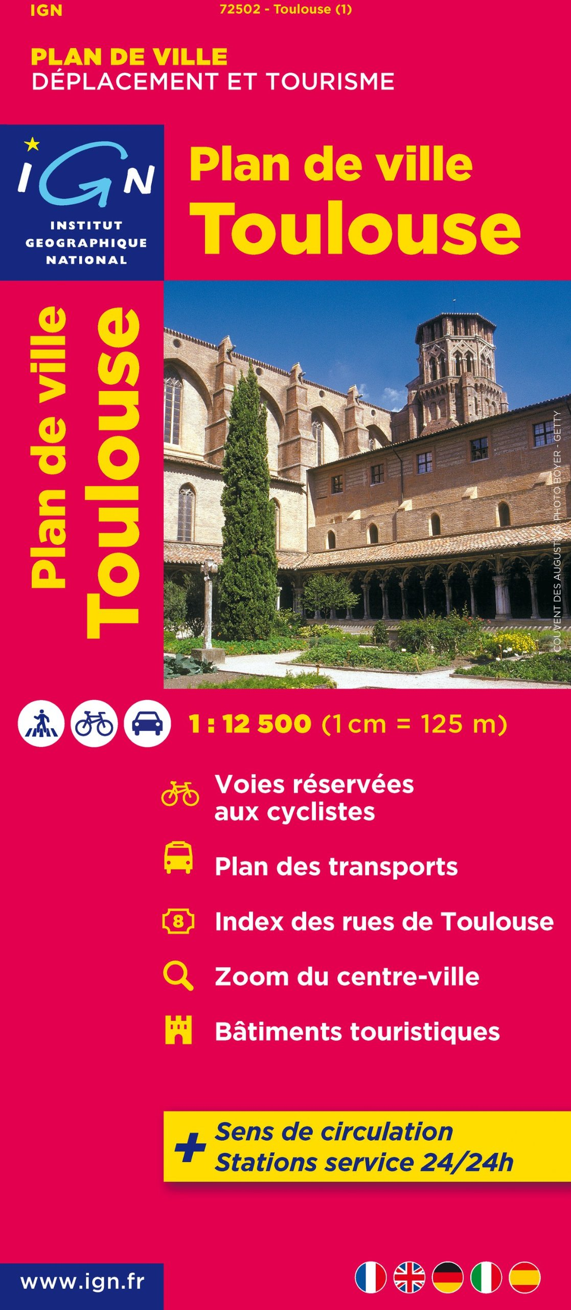 Toulouse: IGN72502 (Ign Map)