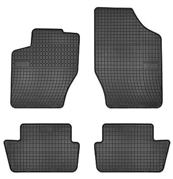 ab 2004 Gummi Fußmatten für Peugeot 407 Bj