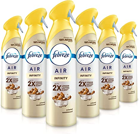 Febreze Air Freshener Spray Oriental Escape 300 Ml Pack Of 6 Packaging May Vary Amazon Co Uk Health Personal Care