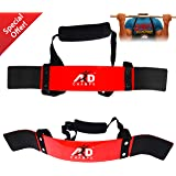 ARD-Champs Heavy Duty Arm Blaster Body Building Bomber Bicep Curl Triceps Red