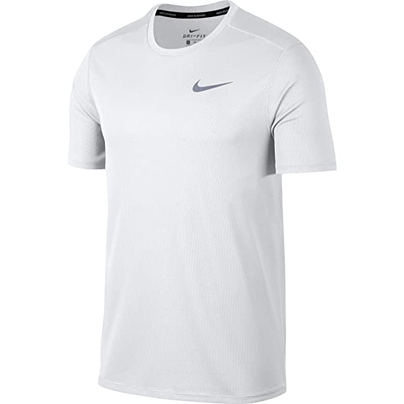 Nike M Nk Run Top SS, T Shirt Uomo