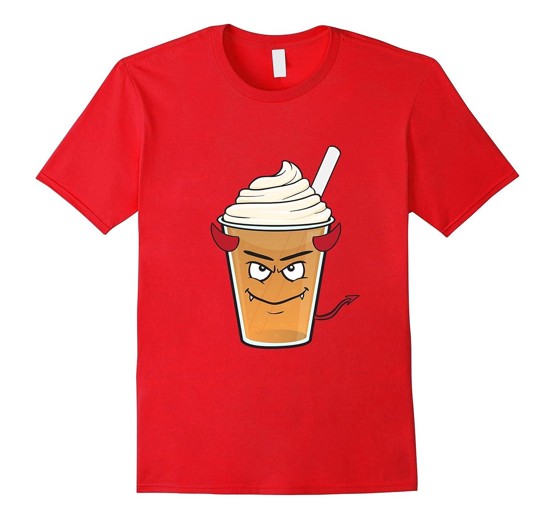 Devil Coffee Emoji T Shirt Evil Tasty Caffeine