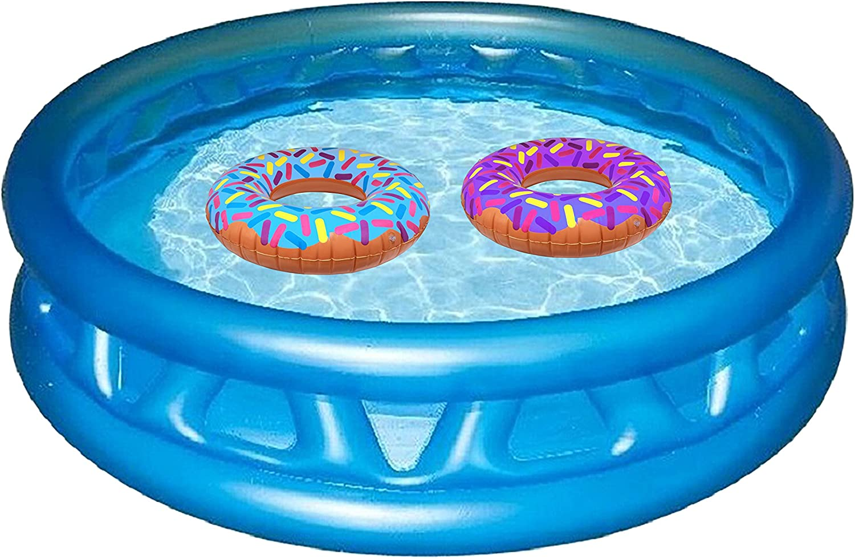 """Amazon.com: Hinchable Donuts 24"""" – Pack de 4 Delicious ..."""