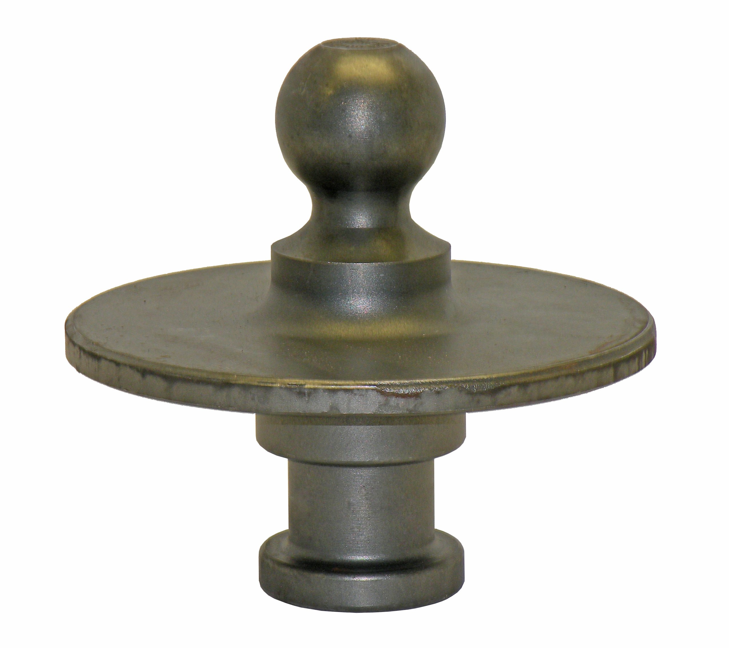 Wallace Forge Kingpin to Gooseneck Ball Adapter - Made in U.S.A. by Wallace Forge