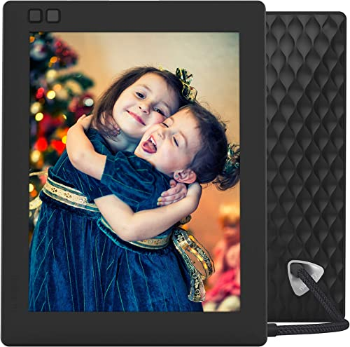 Nixplay Seed 8 Inch WiFi Digital Picture Frame – Share Moments Instantly via App or E-Mail