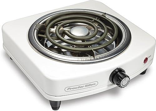Proctor Silex 34103 Fifth Countertop Hot Plate Burner