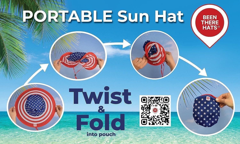 Amazon.com: Sombrero y bolsa de transporte plegable con ...