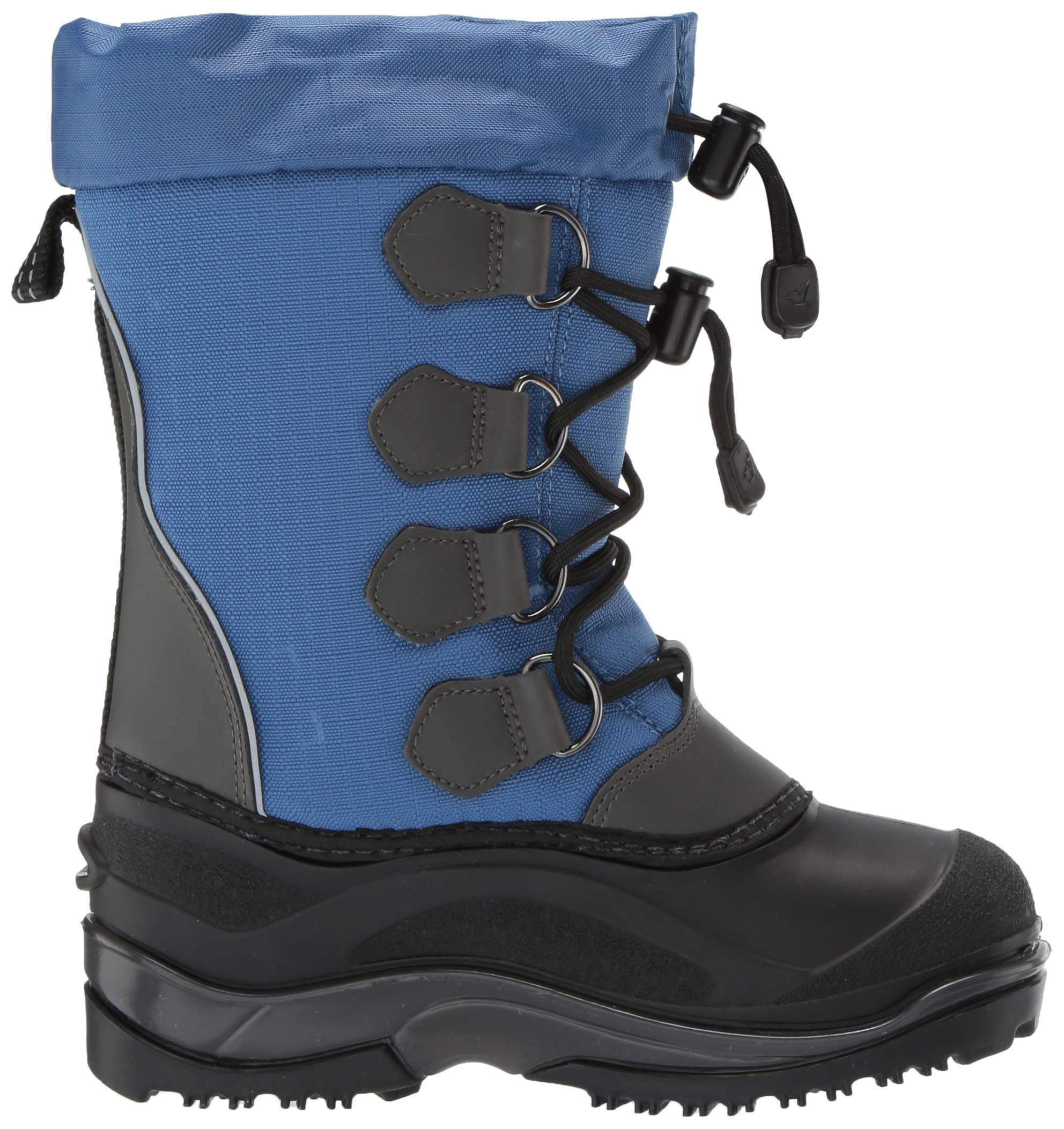 Baffin Unisex SNOWPACK Snow Boot, Blue, 2 Youth US Little Kid by Baffin (Image #7)