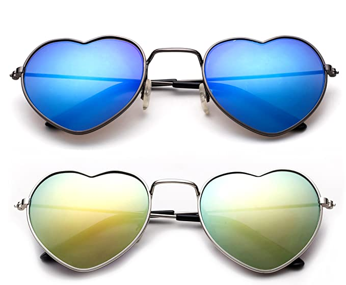 c820d6cde0 Newbee Fashion - quot LOVE quot  Kyra Kids Teens Juniors Heart Shaped  Sunglasses Girls Heart