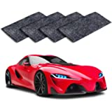 MEIREN Nano Sparkle Cloth, 4PCS Nano Magic Cloth, Car Scratch Remover Cloth Car Paint Swirl Remover Polish & Paint…