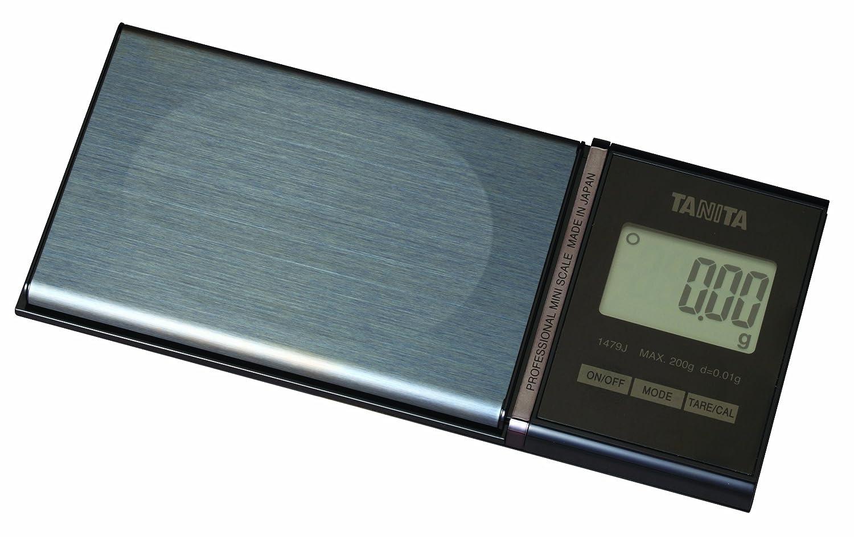 Tanita Profesional Mini Escala 1479J con 200 g Capacidad 0,01g Gradación 6 Modos: Amazon.es: Hogar