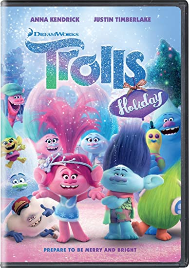 Trolls Holiday on DVD ONLY $4.