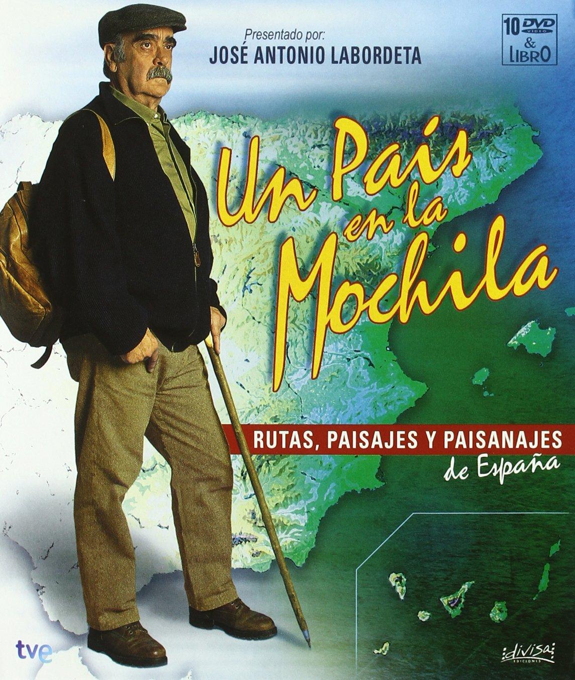 Un País En La Mochila Serie Completa Libro Edición Conmemorativa Dvd Movies Tv