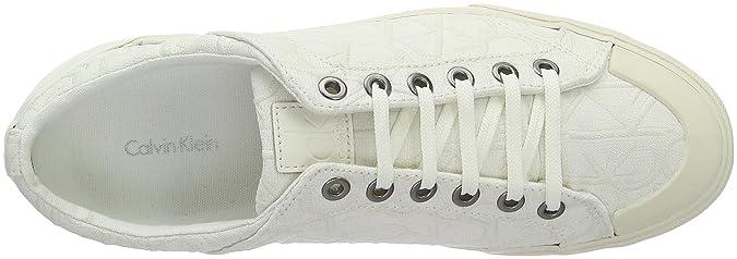 Giselle Calvin 39 Weiß weiß Bianco donna Klein Sneaker 5Fxqr0F7
