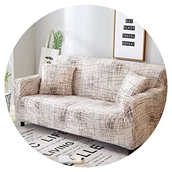 Amazon.com: Small-shop-Sofa Cover Tight Wrap Stretch Couch ...