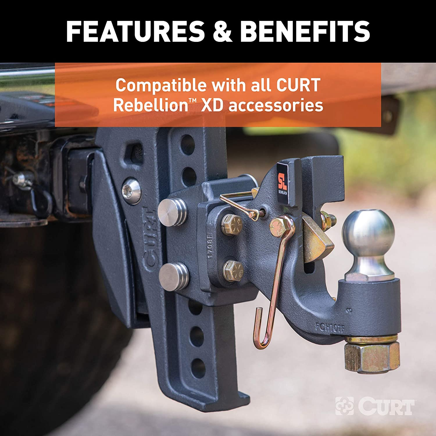 CURT 45959 Replacement Rebellion XD Accessory Mount Pins