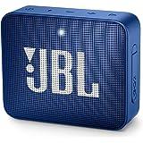 JBL GO 2 Portable Bluetooth Waterproof Speaker (Deep Sea Blue)