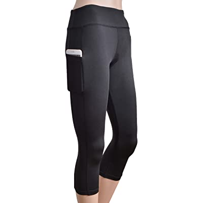 Outrip Stretch Yoga Pants High Waist Workout Running Tummy Control Yoga Leggings Out Pocket
