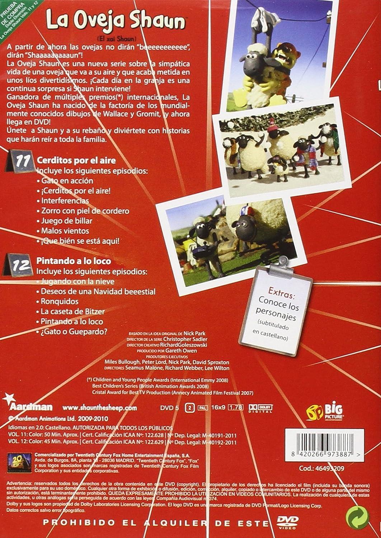 La Oveja Shaun - Volúmenes 11+12 [DVD]: Amazon.es: Personajes animados, Christopher Sadler: Cine y Series TV