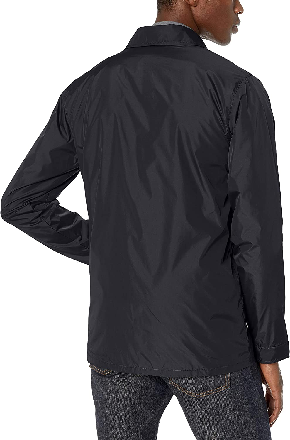 Volcom Mens Skindawg Nylon Snow Jacket Black Large