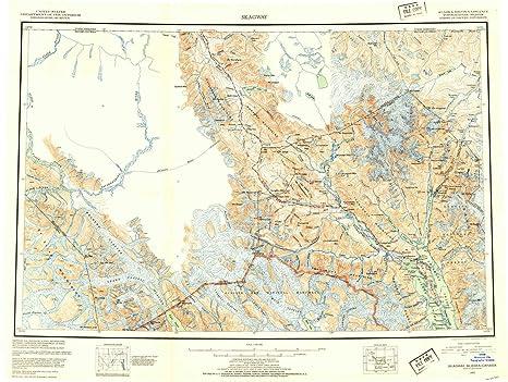 Amazon.com : YellowMaps Skagway AK topo map, 1:250000 Scale ...