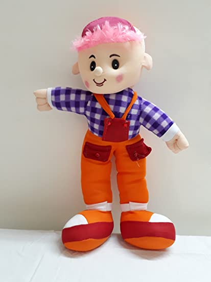 Buy Indian Digi Shop Smart Boy Orange Soft Toys Online At Low Prices