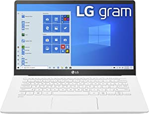 "LG Gram Laptop - 14"" Full HD IPS Display, Intel 10th Gen Core i5-1035G7 CPU, 8GB RAM, 256GB M.2 NVMe SSD, Thunderbolt 3, 18.5 Hour Battery Life - 14Z90N (2020) (14Z90N-U.ARW5U1)"