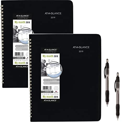 December 21 2019 Day Minder Printable Daily Calendar Amazon.: at A Glance DayMinder Monthly Planner, January 2019