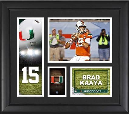 Brad Kaaya Miami Hurricanes Framed 15