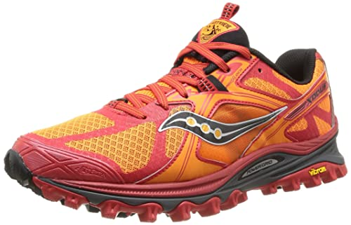 293e2859e80 Saucony Xodus 5.0 Scarpe da Trail-Running, Arancione/Rosso /Bianco, 40:  Amazon.es: Zapatos y complementos