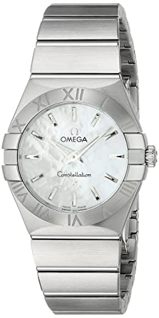 2f73e07e343 Image Unavailable. Image not available for. Color  Omega Women s  12310276005001 Constellation ...