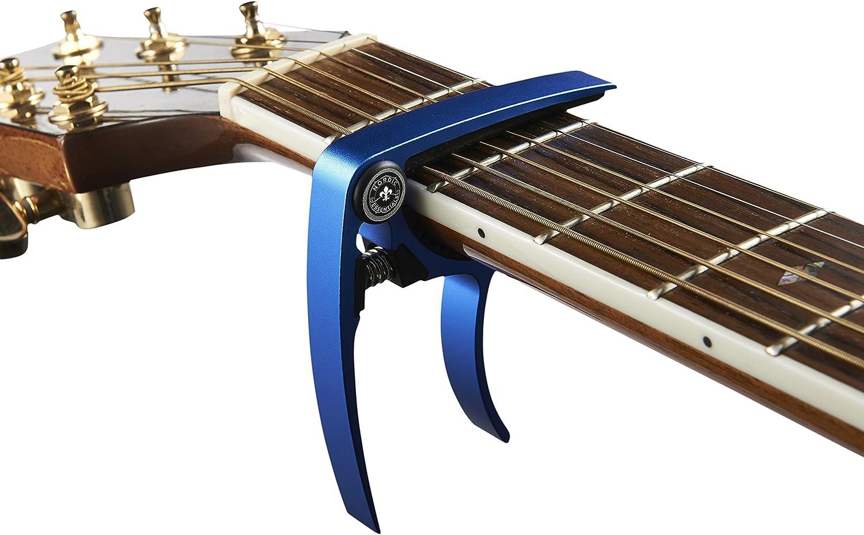 Guitar Accessories,Musician Gift for Woman /& Teens Colorful Aviation Aluminum Guitar Capo Stylish Guitar Capos,Ukulele Capo