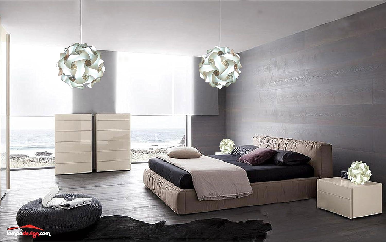 Illuminazione Camera Da Letto Scelta Sospensioni : Lampade moderne camera da letto lampadario da soffitto sfera 50 cm