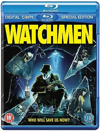 watchmen 2 disc blu ray 2009 amazon co uk carla gugino watchmen 2 disc blu ray 2009