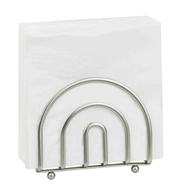 Home Basics Satin Nickel Collection Napkin Holder [Misc.]