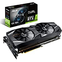 ASUS DUAL-RTX2070-O8G 8GB 256-Bit GDDR6 PCI Express 3.0 HDCP Ready Video Card + NVIDIA Gift